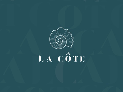 la cote logo design business identity vector ui illustration illustrator identitydesign business branding art typography logo design