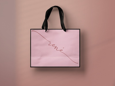 Shopping bag design simple shopping bag illustrator identitydesign typography logo illustration icon design business branding art