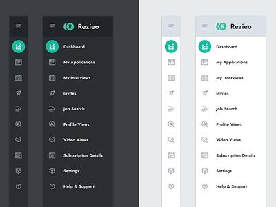 Web App Navigation branding ui uiux sidebar navigation sidebar agency app components design dark mode