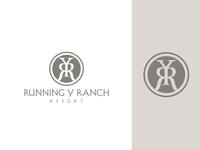 Running Y Ranch Resort monogram logo monogram spa ranch resort design logo logo design