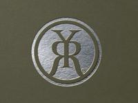 Running Y Ranch branding design branding brand silver monogram letter mark monogram design monogram logo monogram logo design logo