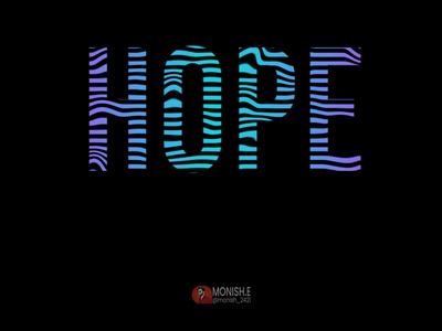 Hope does not liquified photoshop editing photos liquid animation liquify color text vector icon letter typography branding illustration logo design logo graphicdesign design