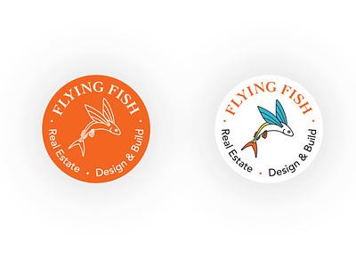 Flying Fish icon design logo