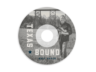 Texas Bound - CD Design design cd design