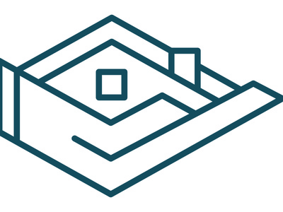 Soft Touch Moving design icon logo