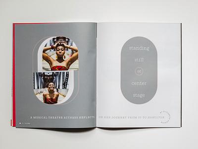 The College Magazine - Spread Cover #7 stationary design publication design