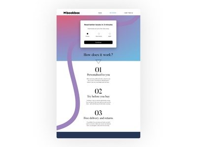 Day 003 - Landing Page ux typography visualdesign ui uxui dailyuichallenge dailyui