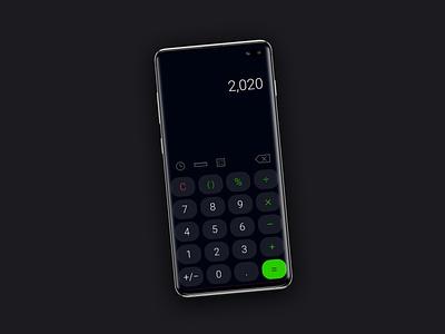 Day 004 - Calculator UI ux branding typography visualdesign ui uxui dailyuichallenge dailyui