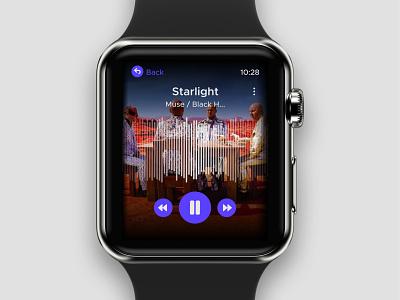 Day 009 - Music Player watch music minimal ux uxui typography branding dailyuichallenge visualdesign ui dailyui