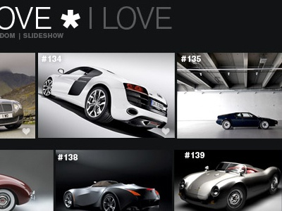 Cars I Love cars slideshow pictures photos images