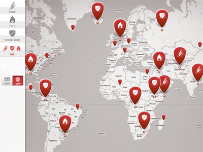 iPad Google Maps Mashup ipad map maps google