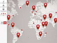 iPad Google Maps Mashup