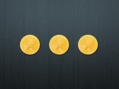 Coins coin money star cash change gold stars rewards reward points point