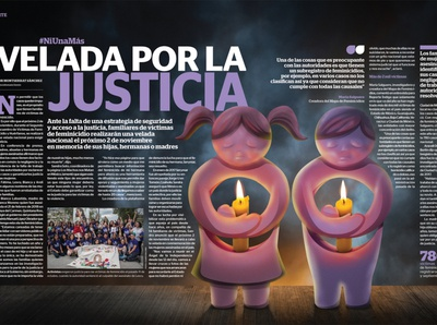Veiled by justice editorial concept design illustration art