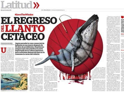 The return of the cetacean crys editorial illustration art