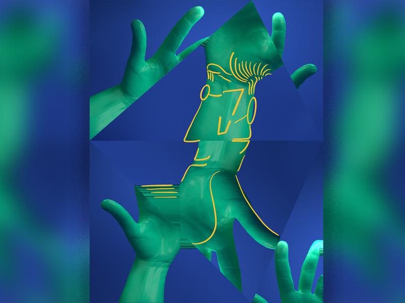 Cool Cats! 😼 c4d arnold motion designer motion graphics motion design illustration