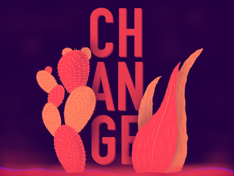 Change vector illustration motion canada vancouver design
