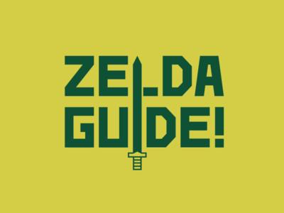 Zelda Guide - Logo Design guide legend of zelda zelda vector rebrand graphic design branding logo design logo minimal illustrator illustration design