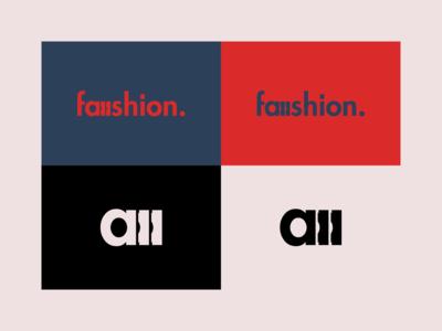 Faaashion - Logo Design fashion blog logo fashion blog faaashion logo faaashion fashion logo fashion vector rebrand illustration graphic design branding logo design illustrator logo minimal design