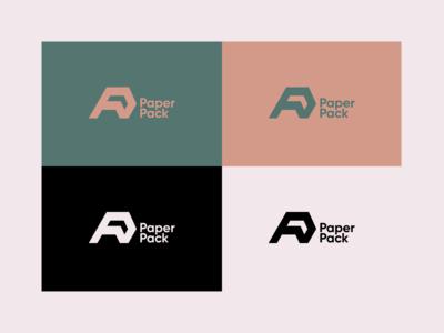 Paper Pack - Logo Design package packaging logo packaging paper pack logo paper pack paper vector rebrand illustration graphic design branding logo design illustrator logo minimal design