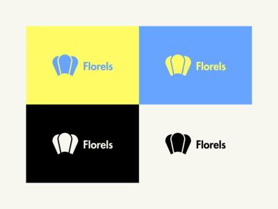 Florels - Logo Design mobile mobile game company logo mobile game florels logo florels vector rebrand graphic design branding logo design illustration logo illustrator minimal design