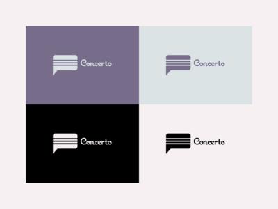 Concerto - Logo Design concerts sms music sms music concerto logo concerto vector rebrand graphic design branding logo design illustration logo illustrator minimal design