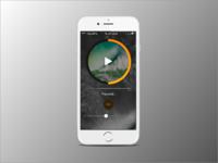 Mobile meditation app
