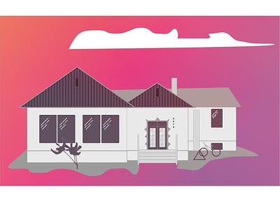 Xanadu Community Center vectors home sketch