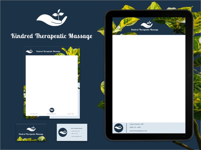Massage branding kit