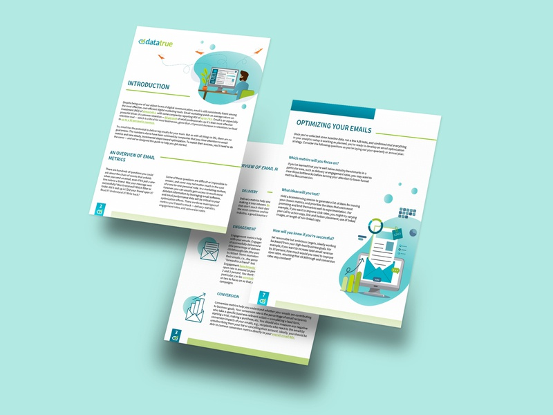Email Marketing - White paper print data visualization information design information marketing campaign marketing materials marketing material marketing branded content vector illustration vector art layoutdesign layouts layout design layout design document white paper whitepaper email marketing