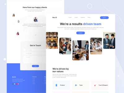 Saas Landing Page Design agency webdesignagency saas product best ux designer best ui designer web application design website design webdesign saas design saas uiuxdesign uxdesign uidesign