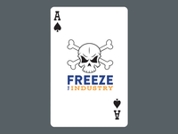 Freeze The Industry Cards