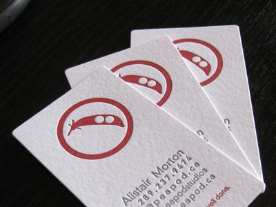 Letterpress Cards letterpress business cards