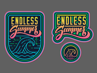 Endless Summer - Game Logo and Icon
