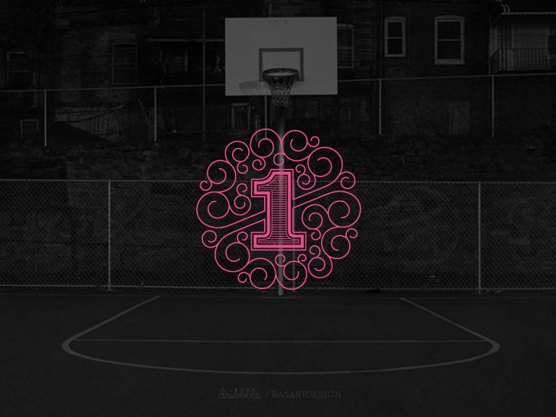 First Shot first shot first shot one play drafted custom lettering street ball court berlin germany dribbble