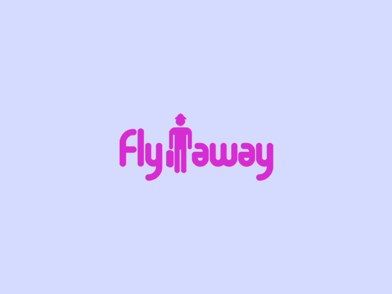 Fly away airline magazine inflight flight branding logodesign logo behance dribbble passenger tourist travel