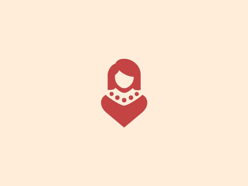 Mature Dating - Logo unused heart flirt sexy women woman mom date dating milf mature