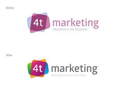4t branding logo branding