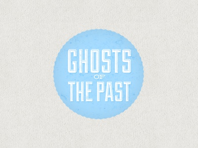 Ghosts of the Past logo branding