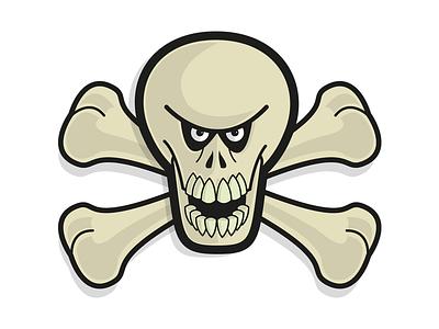 Jolly Roger illustration illustator
