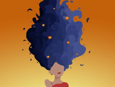 Waves graphicart photoshop woman illustration digitalart illustration