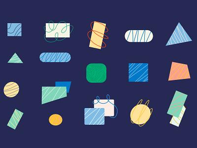 Shapes motion graphics design branding pattern minimal illustration motion design animation