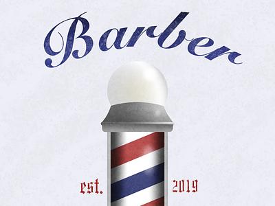 Barber Shop affinity designer design