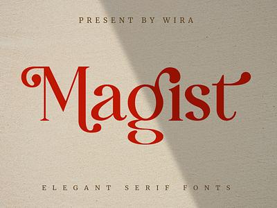 Magist Elegant Serif Font display chic modern magazine luxury header feminine serif typeface elegant serif font font
