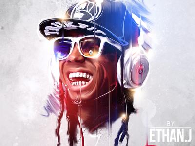 Paint & Illustrate - Lil Wayne