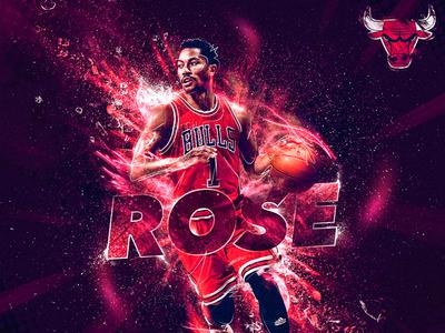 Derrick Rose - NBA Artwork