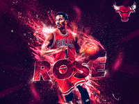 Derrick Rose - NBA Artwork