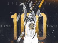Steph Curry - Artwork for the NBA
