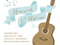 Making Beautiful Music Engagement Party