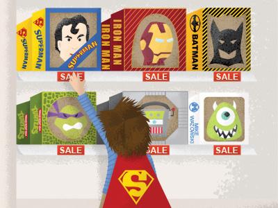 Disguise disguise halloween mask superman iron man batman tmnt robot monsters inc cape superhero